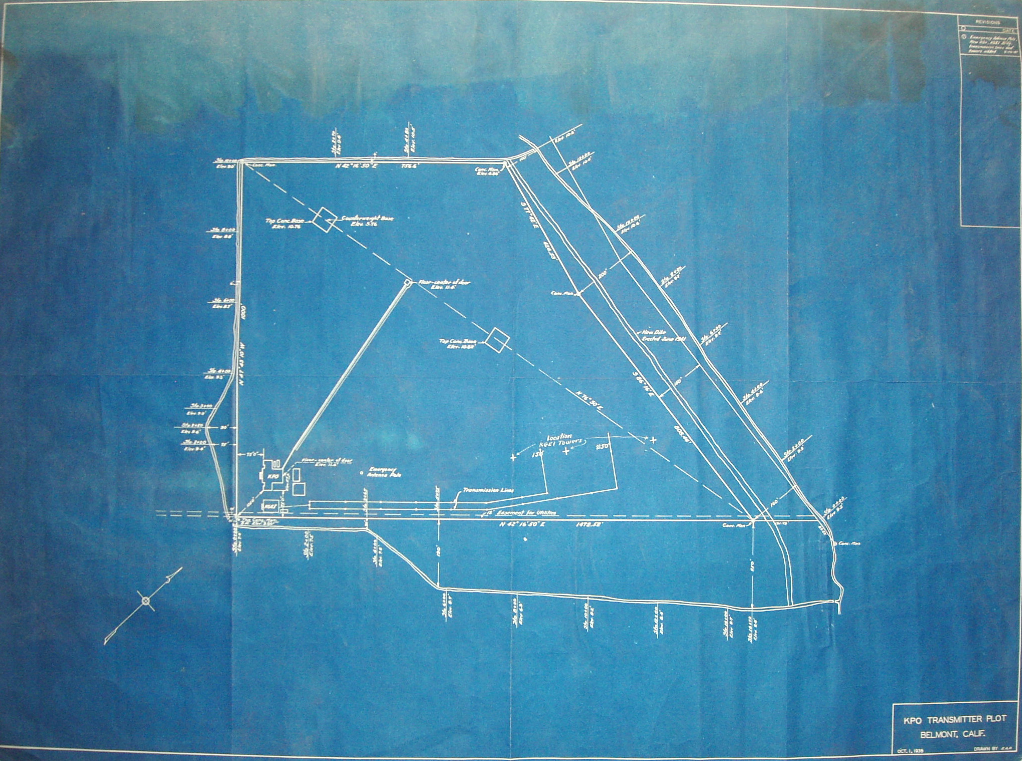 Dx History Majestic Caravan Wiring Diagram 1 Is An Nbc Drawing Showing Kgei Probably As It Was Installed No 2 The Title Block In Lower Right Hand Corner Of And